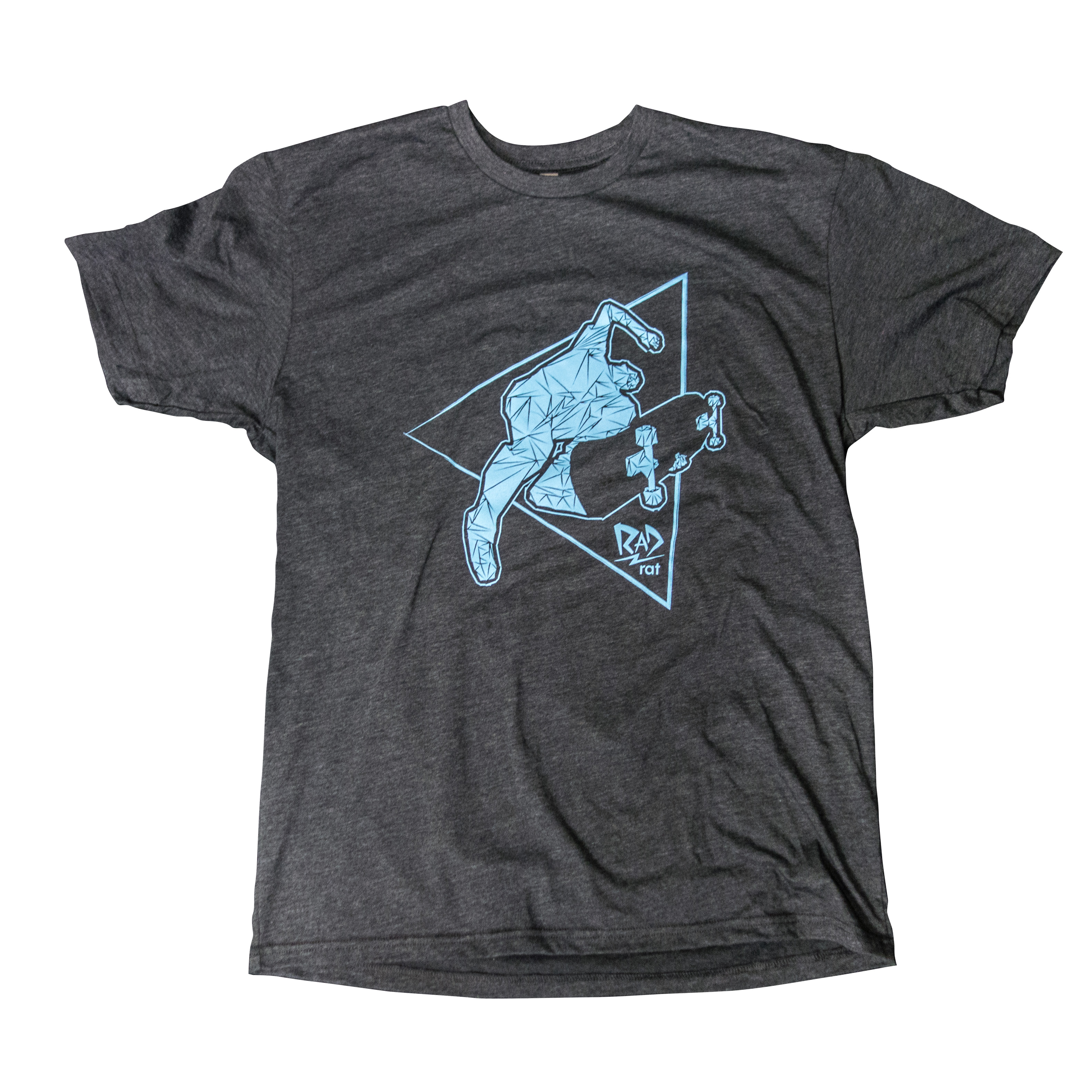 940279c9 You're viewing: Beanplant T-Shirt (Unisex) – Screenprinted Blue on Charcoal  $19.99