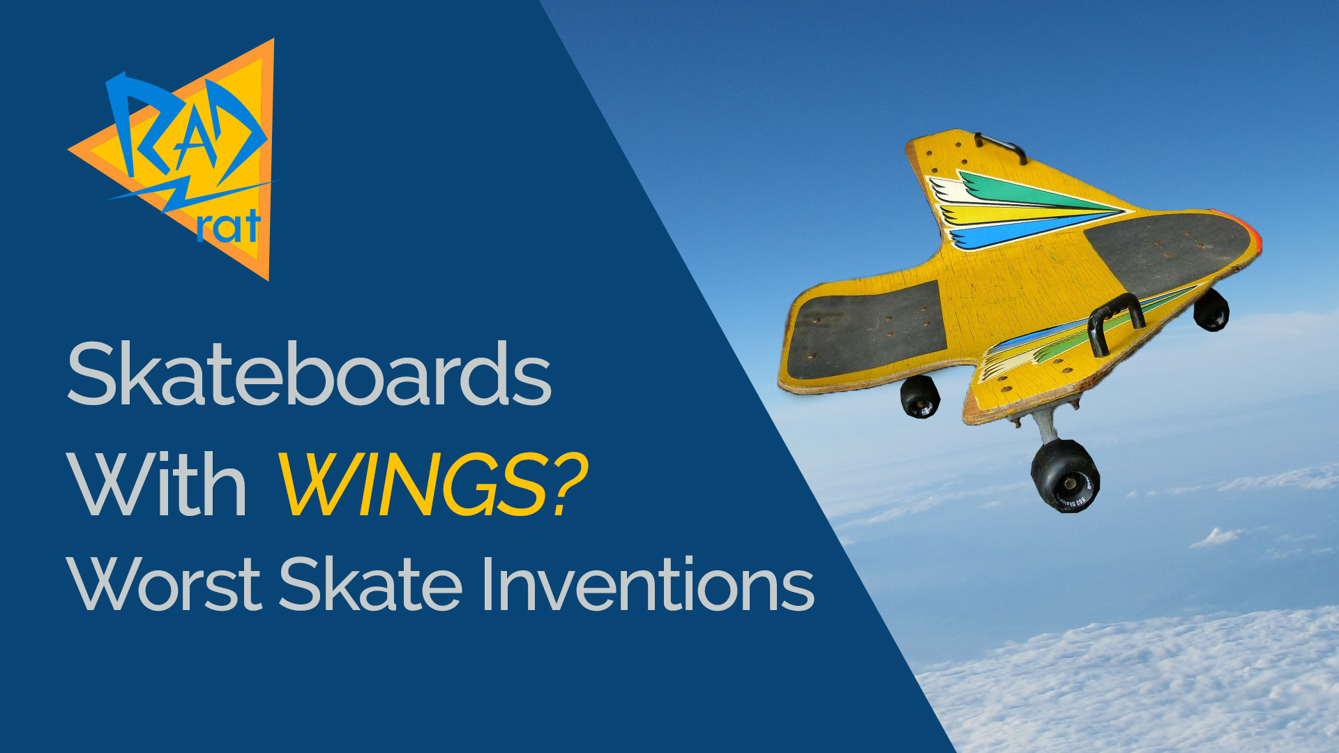 A Skateboard with WINGS? Worst Skateboard Inventions of All